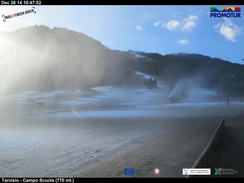 webcam tarvisio monte campo scuola duca d'aosta