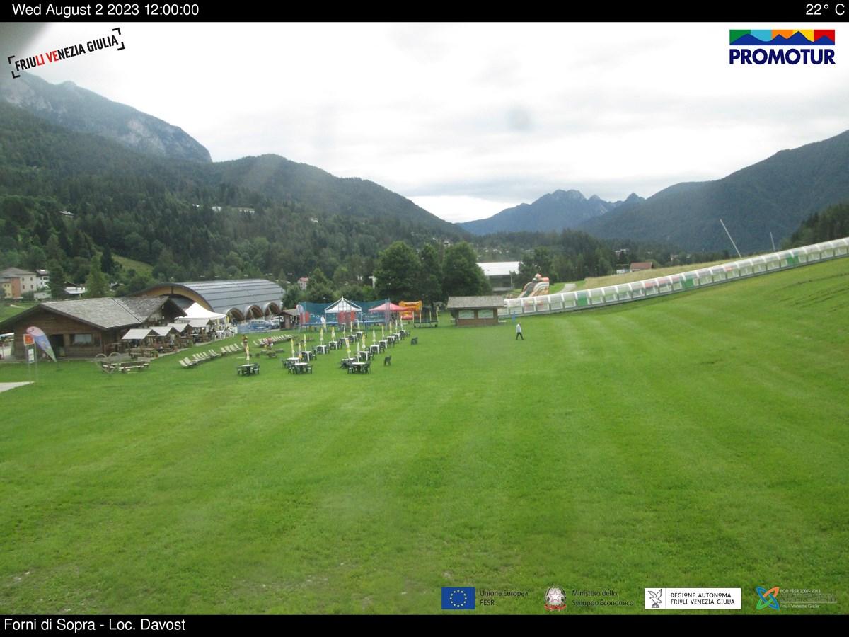 Webcam Neve Forni di Sopra