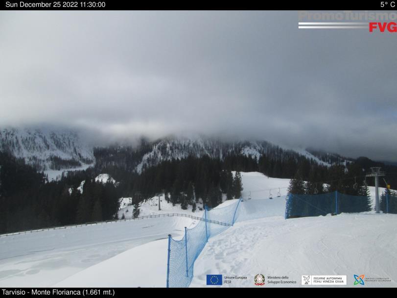webcam tarvisio monte monte florianca