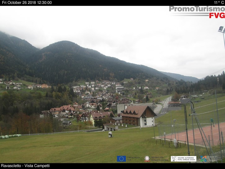 Webcam <br><span>Webcam Ravascletto - Monte Zoncolan</span>