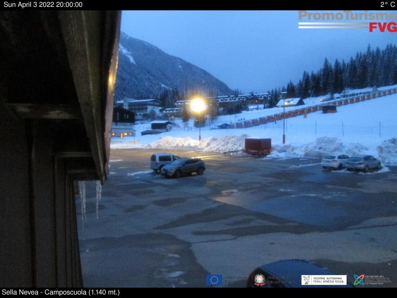 webcam sella nevea tarvisio campo scuola